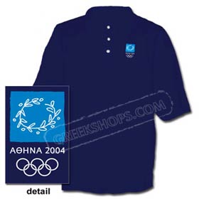 Athens 2004 Navy Blue Polo Shirt -  SALE!