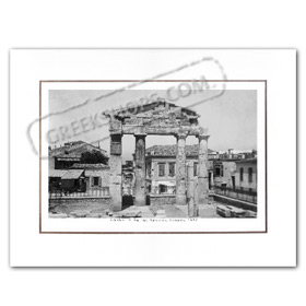 Vintage Greek City Photos Attica - City of Athens, Entrance to Ancient Agora (1936)