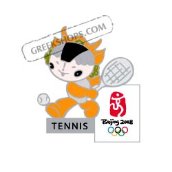 Beijing 2008 Yingying Tennis Olympic Sports Pin