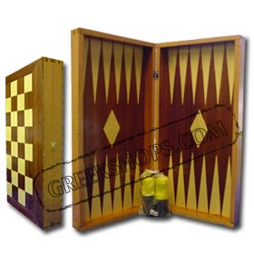 Backgammon & Chess Set ( Tavli )