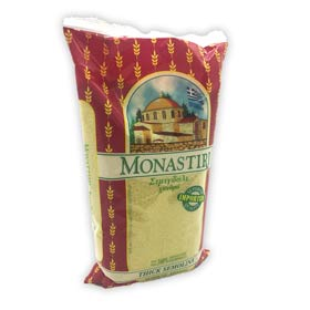 Monastiri Greek Thick (Coarse) Semolina, 500gr
