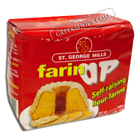 St. George Mills Farin AP, Greek Self Rising Flour – 500 gr.