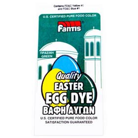 Fantis Green Dye for Easter Eggs