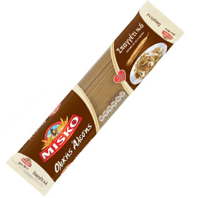Misko Whole Wheat Spaghetti No 6, 500gr