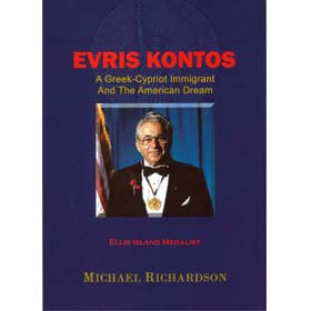 Evris Kontos, A Greek Cypriot Immigrant and the American Dream, In English