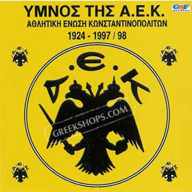 AEK Anthem CD