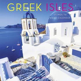 GreekShops.: Greek Products : Calendars : Greek Islands 2021