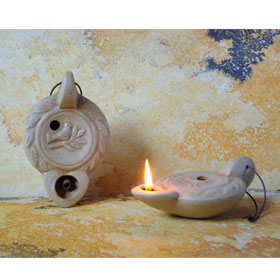 Ancient Greek Oil Lamp Kallistos