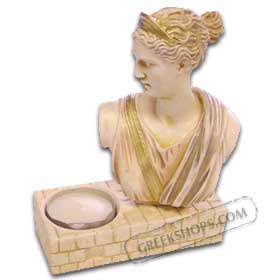 Ancient Greece Artemis Candle Holder (Clearance 40% Off)
