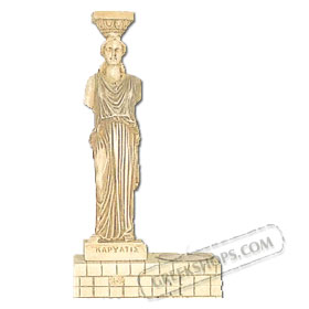 Caryatid Candle Holder (Clearance 40% Off)