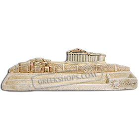 Molivothiki Akropoli - Acropolis Pencil Holder (9.4x2.4 in.) (Clearance 40% Off)