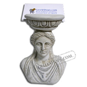 Business Card Holder - Caryatides (Clearance 40% Off)