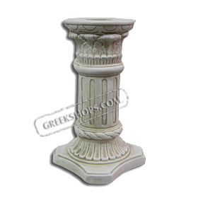 "Candle Stick Holder -  Ancient Greek Column (5"")"