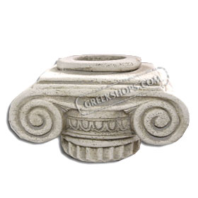 "Tealight Candle Holder - Ancient Greek Column Top (3"") (Clearance 40% Off)"