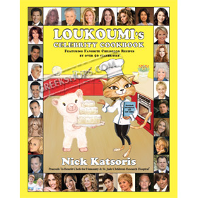 Loukoumi's Celebrity Cookbook (In English)