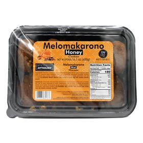 Mythology Traditional Melomakarona, 400gr Imported from Greece