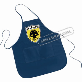 Large Pocketed Apron - AEK Greek Sports Team