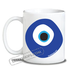 Coffee Mug - Mati Evil Eye