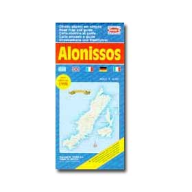 Map of Alonnisos Special 50% off