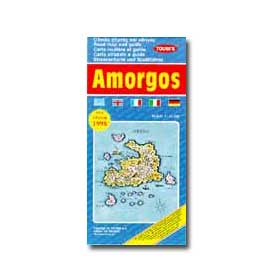 Map of Amorgos Special 50% off