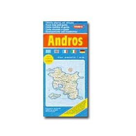Map of Andros Special 50% off