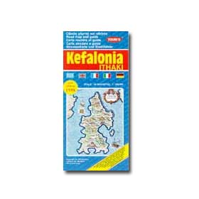 Map of Kefalonia - Ithaki Special 50% off