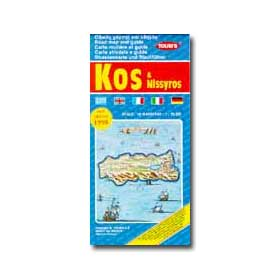 Map of Kos - Nisyros Special 50% off