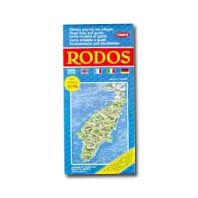 Road Map of Rhodes Special 50% off