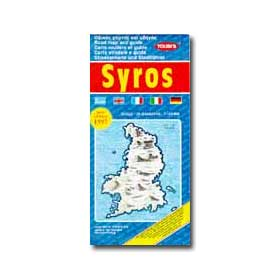 Road Map of Syros Special 50% off