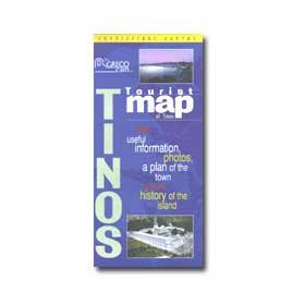 Road Map of Tinos Special 50% off