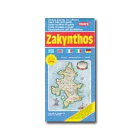 Road Map of Zakynthos Special 50% off