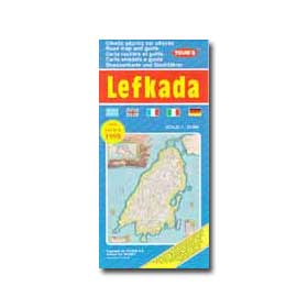 Road Map of Lefkada Special 50% off