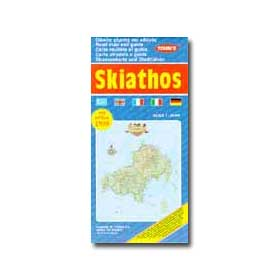 Road Map of Skiathos Special 50% off