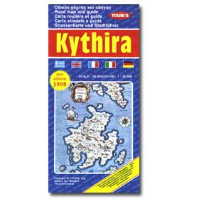 Road Map of Kythira Special 50% off