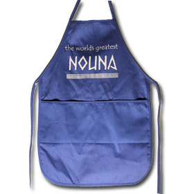 "Nouna Apron for Godmothers, 20"" x 20"" with pockets"