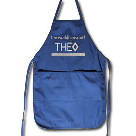 "Theo Apron for Uncles, 20"" x 20"" with pockets"