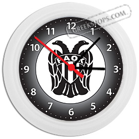 Greek Time - PAOK Wall Clock