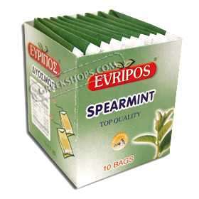 Evripos Spearmint in Tea Bags (10 per pack)
