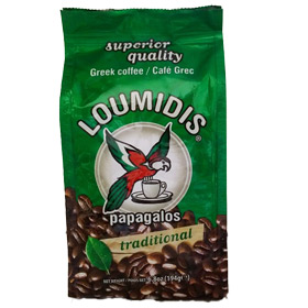 Greek Coffee Papagalos Loumidis - 6.8oz bag