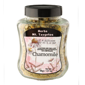 Mt. Taygetos Chamomile Tea in Loose Dried Form - Net Wt. 1.41 oz