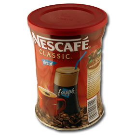 Greek Decaf Nescafe for Frappe Iced Coffee - Net Wt. 200 gr200gr