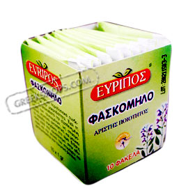Evripos Greek Sage Tea in Tea Bags (10 per pack)