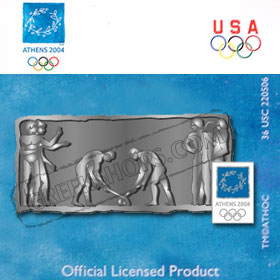 Athens 2004 Hockey Relief Ltd. Ed. 2004 Pin