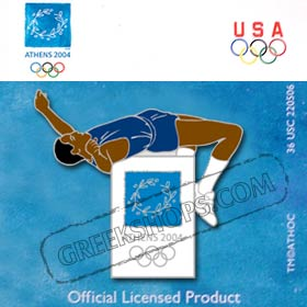 Athens 2004 Athletics Pin