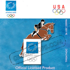 Athens 2004 Equestrian Pin