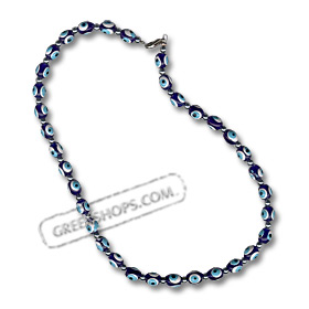 Blue Evil Eye Necklace KI_2