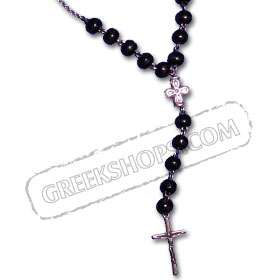 Rosary Style Necklace KRZ10