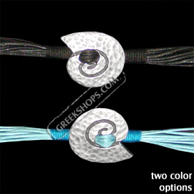 Byzantium Collection - Bracelet with Swirl Motif BY25 (2 Color Options)