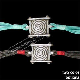 Byzantium Collection - Bracelet with Swirl Motif BY80 (2 Color Options)