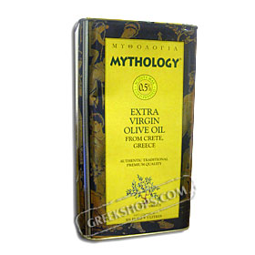 Mythology Extra Virgin Olive Oil from Crete 3 liters - Free Shipping US